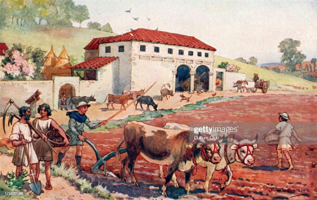 Ancient Farming Tools Rome