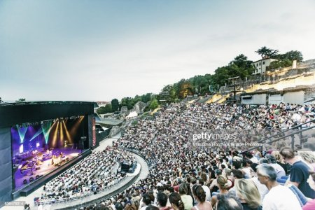 The Roman Theatre During Le Nuits De Fourviere High-Res Stock Photo - Getty  Images