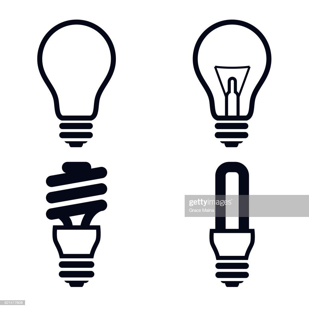 Cartoon Images Light Bulbs