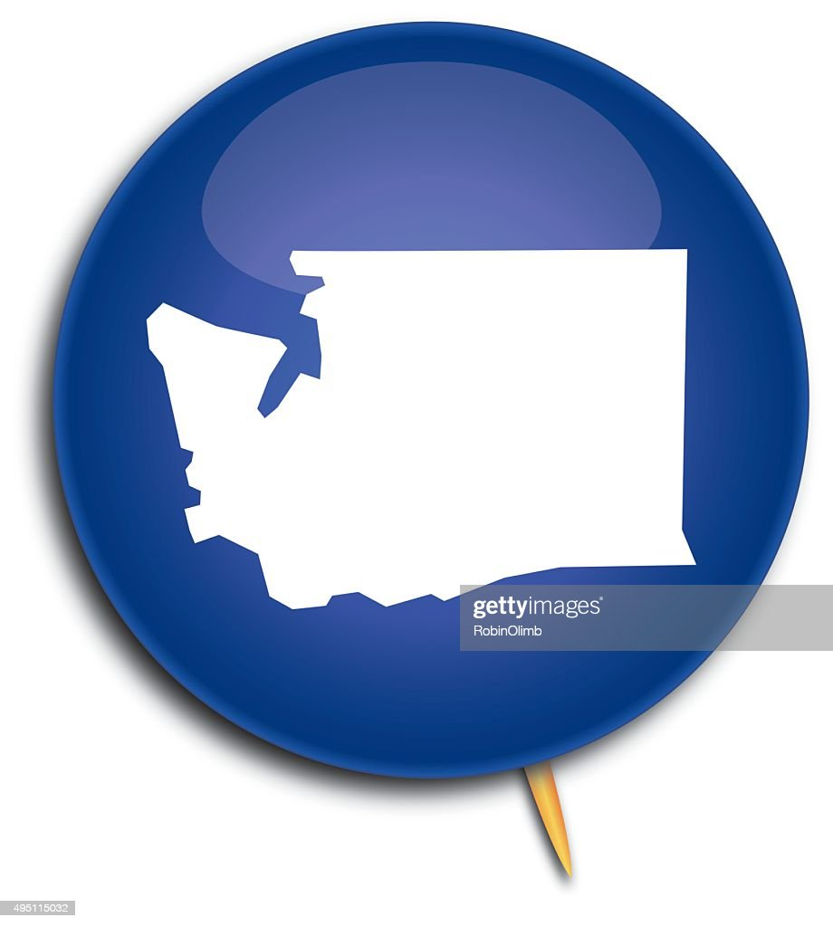 map art button     washington map on vector id495115032 s 170667a