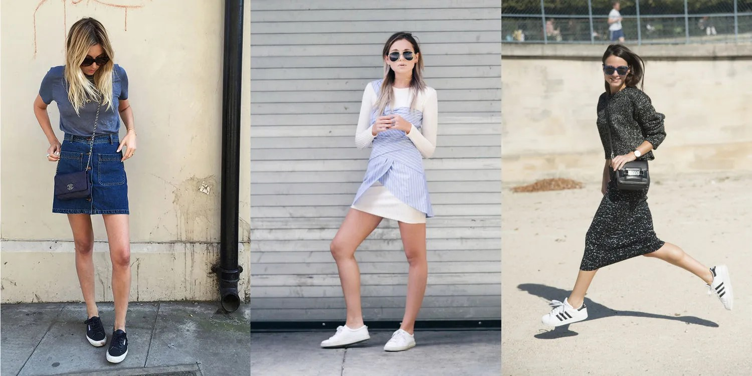 How to Style Sneakers This Summer   Glamour