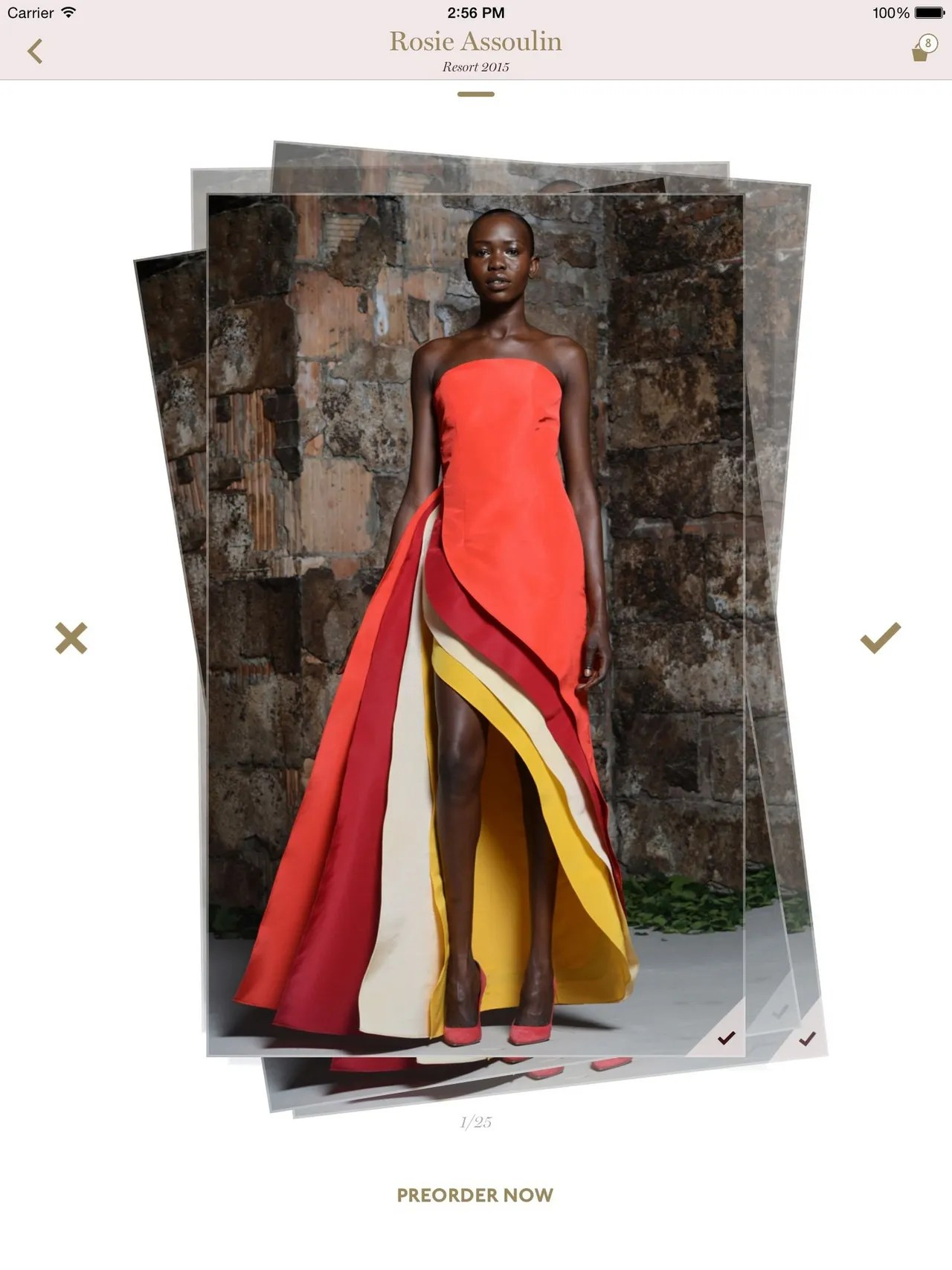 New Apps Let You Shop the Runway at New York Fashion Week  Moda     moda operandi shopping app new york fashion week