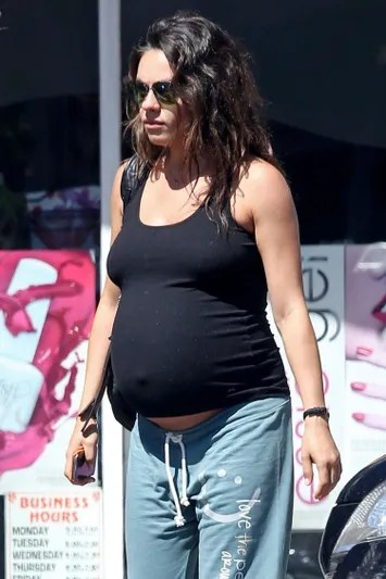 Is It Safe to Get Pedicures While Pregnant? Mila Kunis ...
