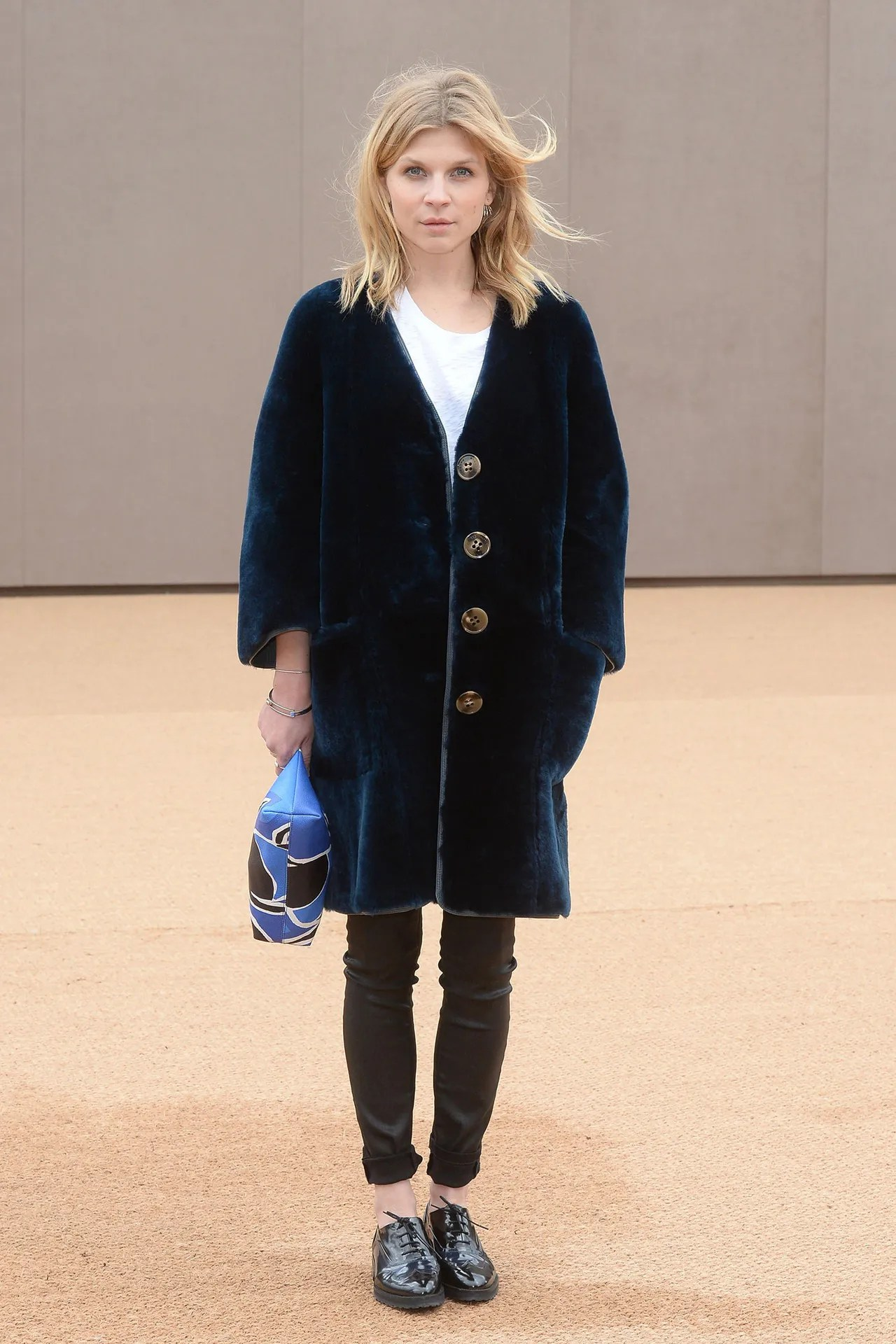 The Fashion App That Helps You Achieve French Girl Style   Glamour clemence poesy velvet coat oxfords style
