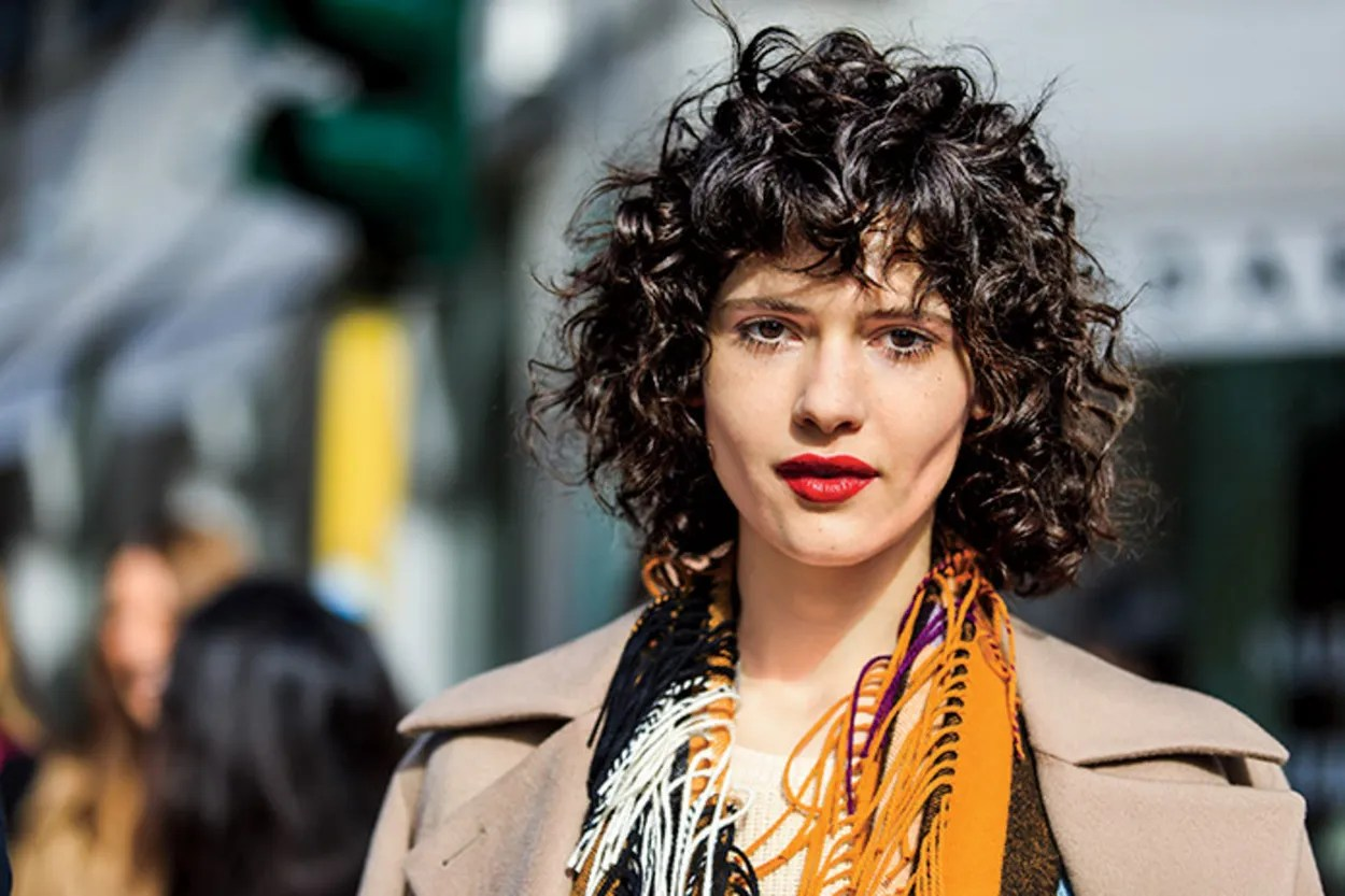 Short Curly Hairstyles With Fringe Page 1