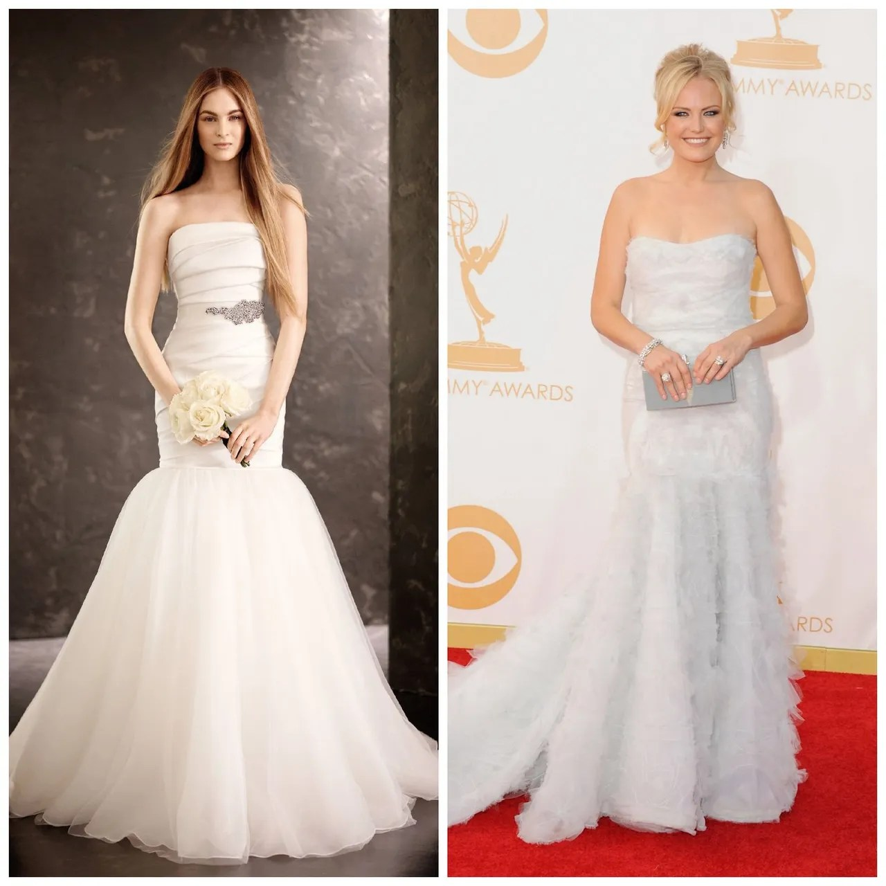 4 Bridesmaid Dresses Inspired by Your Favorite Dresses From the     1 emmy fashion 2013