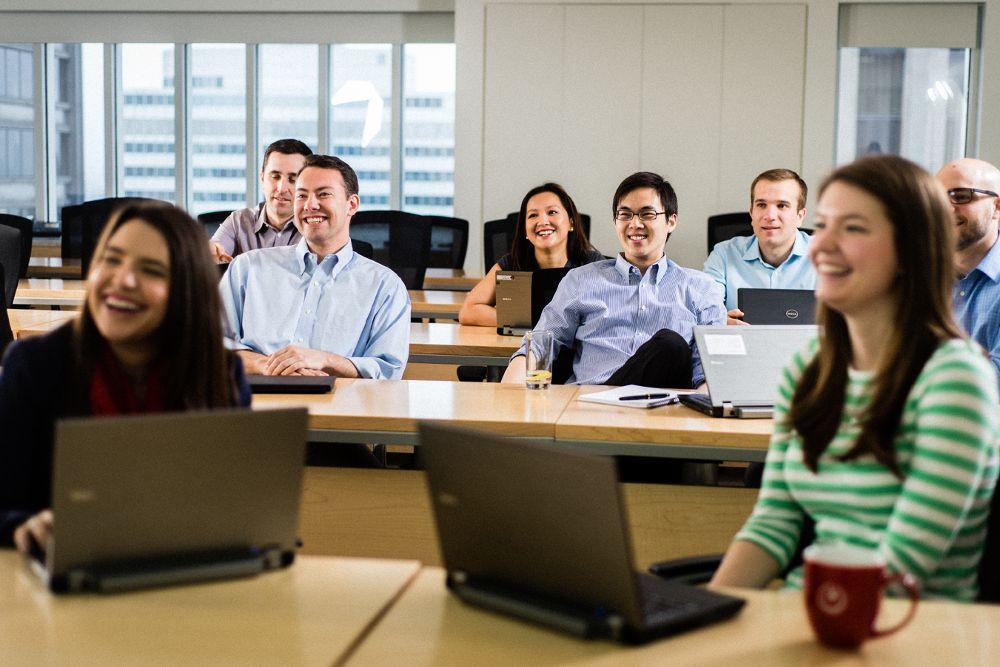 Bain's dedicated training roo... - Bain & Company Office ...