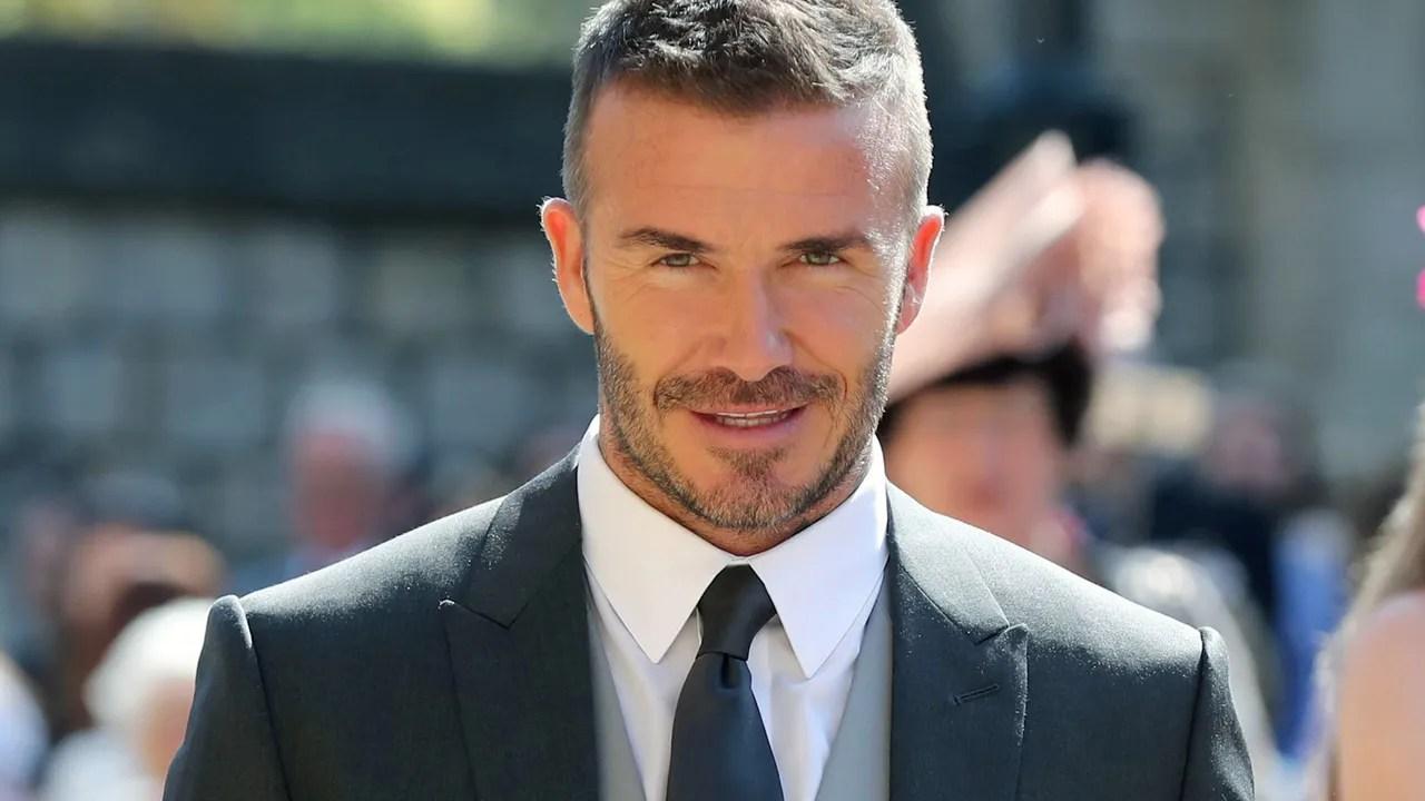 David Beckham Attended the Royal Wedding Wearing Kim Jones ...