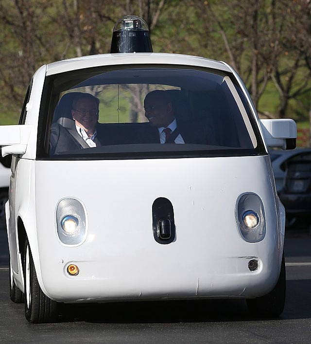 Google Self Driving Car Commercial