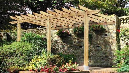 I Am Planning A Lean To Pergola Against My West Facing