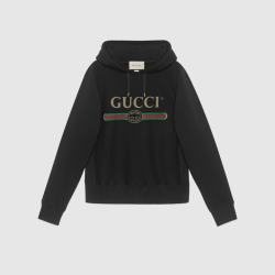 d6967841 Hooded Cotton Sweatshirt With Gucci Logo Gucci New: Sweatshirts