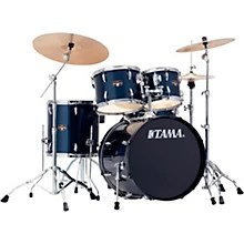TAMA Acoustic Drum Sets   Guitar Center TAMA Imperialstar 5 Piece Complete Drum Set with Meinl HCS Cymbals and 20  in