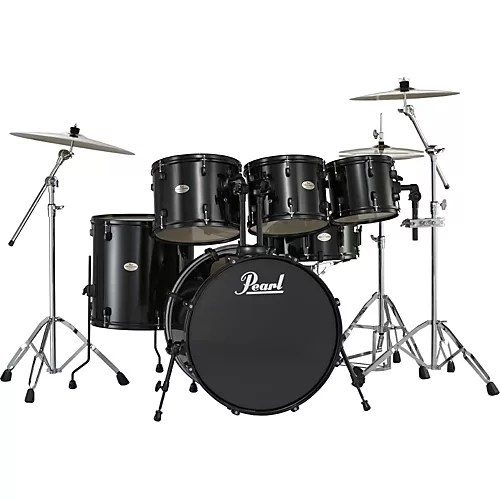 Pearl forum 5 Piece Drum Set with Free 10  Tom   Guitar Center Pearl forum 5 Piece Drum Set with Free 10