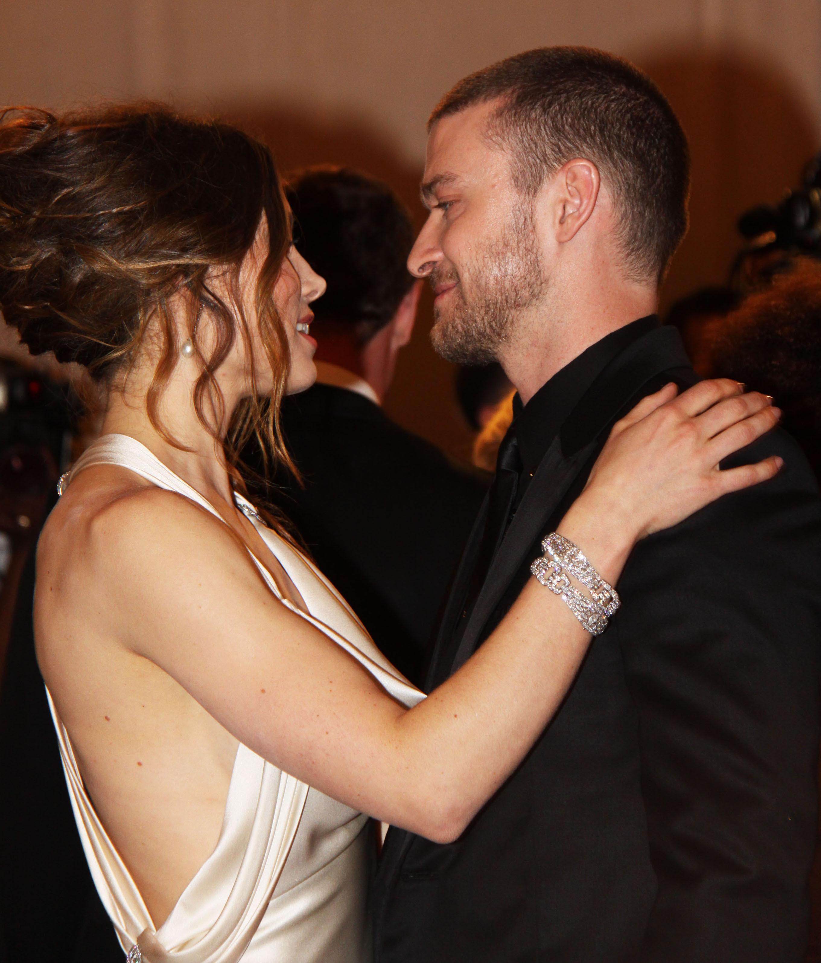 Ring Married Justin Jessica Timberlake Biel