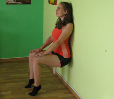 Wall Sit With Calf Raise Form, Muscles Worked, Benefits