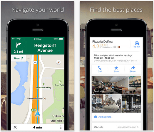 Google Maps app updated with new  faster route  feature Despite being kicked off iOS in the fall of 2012  Google Maps has managed  to maintain a high profile on Apple s platform  Released as a standalone app  that