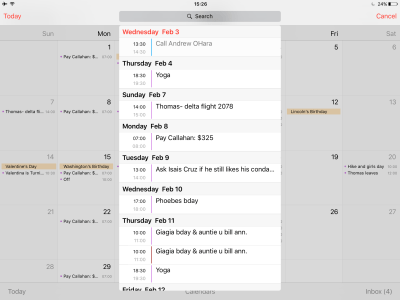 How to display your Calendar events as a list view widget ...