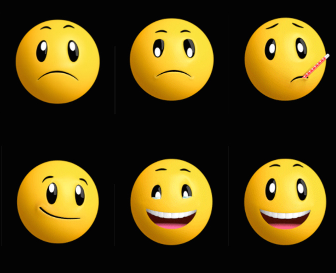 animated moving emojis - 675×548