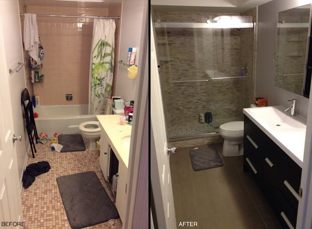 My Small Bathroom Remodel Recap  Costs  Designs   More My Small Bathroom Remodel Recap