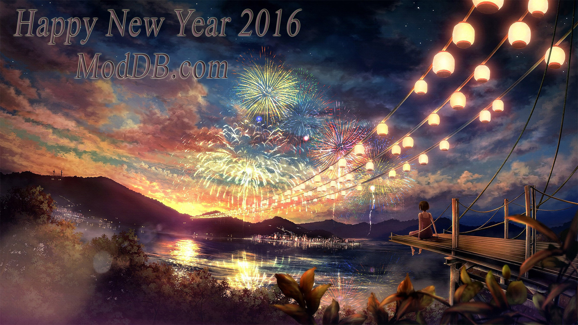 I wish you all a Happy New Year 2016 image   Anime Fans of modDB         New Year 2016  view original