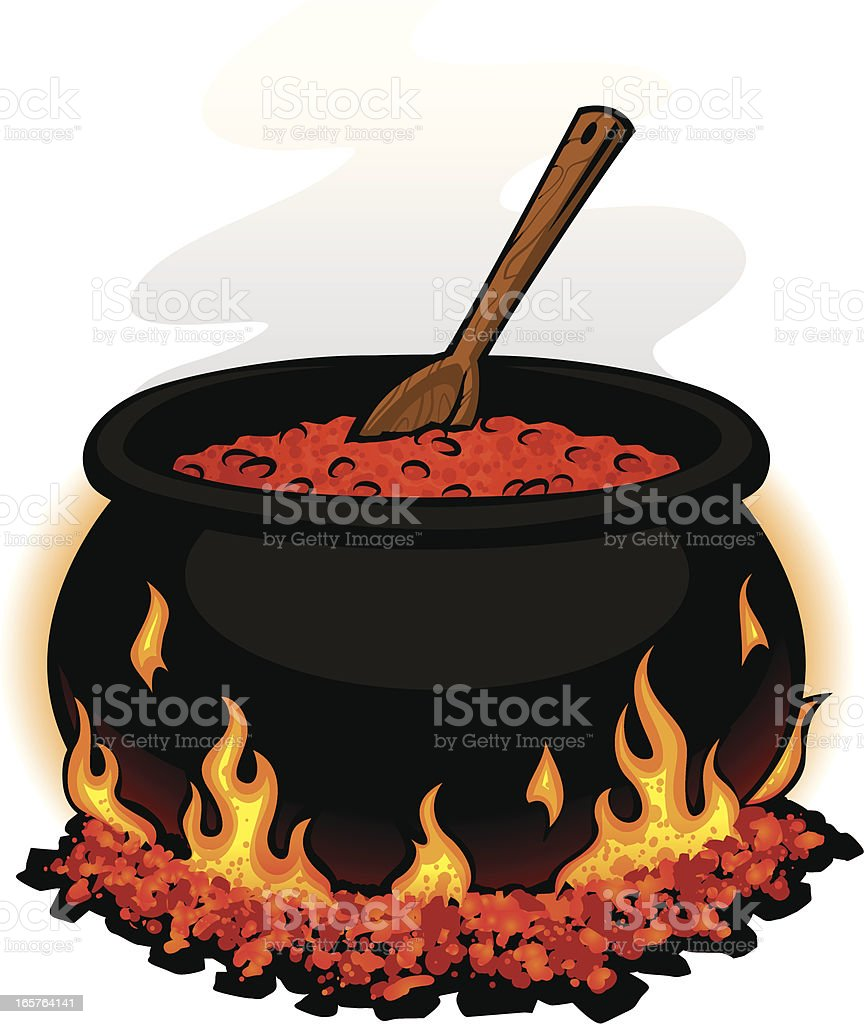 Chili Cauldron Background