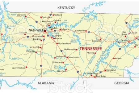 tennessee road map » Full HD MAPS Locations - Another World ...