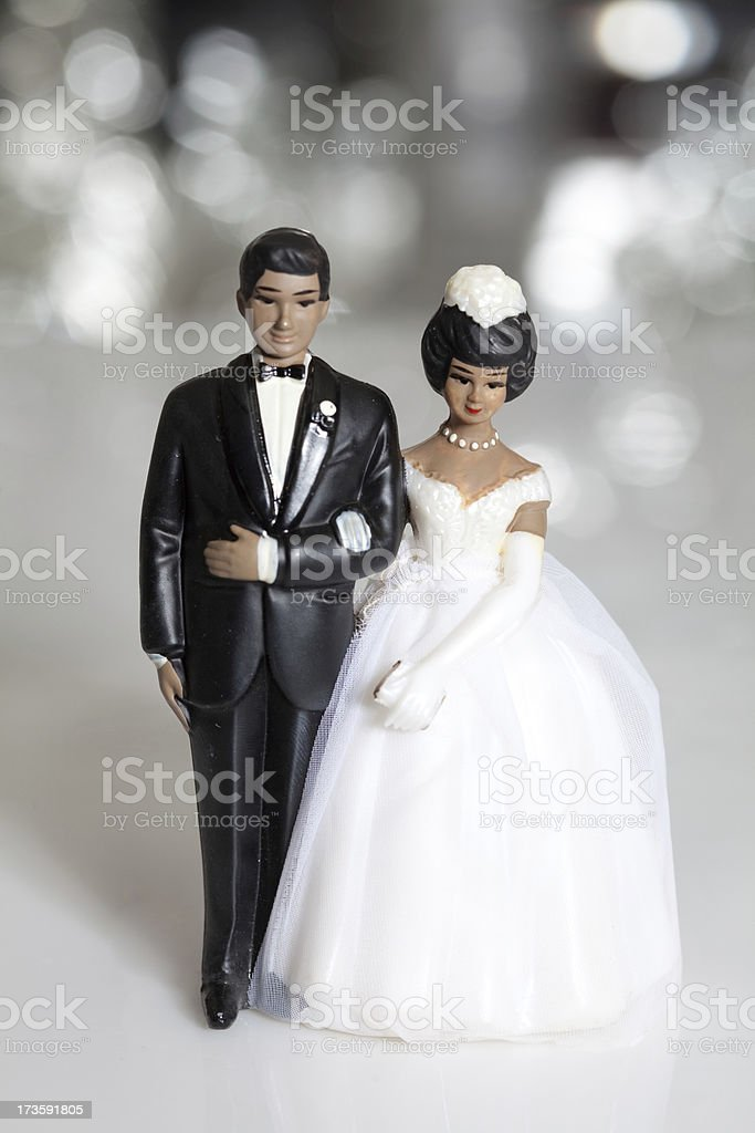 African American Vintage Wedding Cake Topper Stock Photo   More     African American vintage wedding cake topper royalty free stock photo