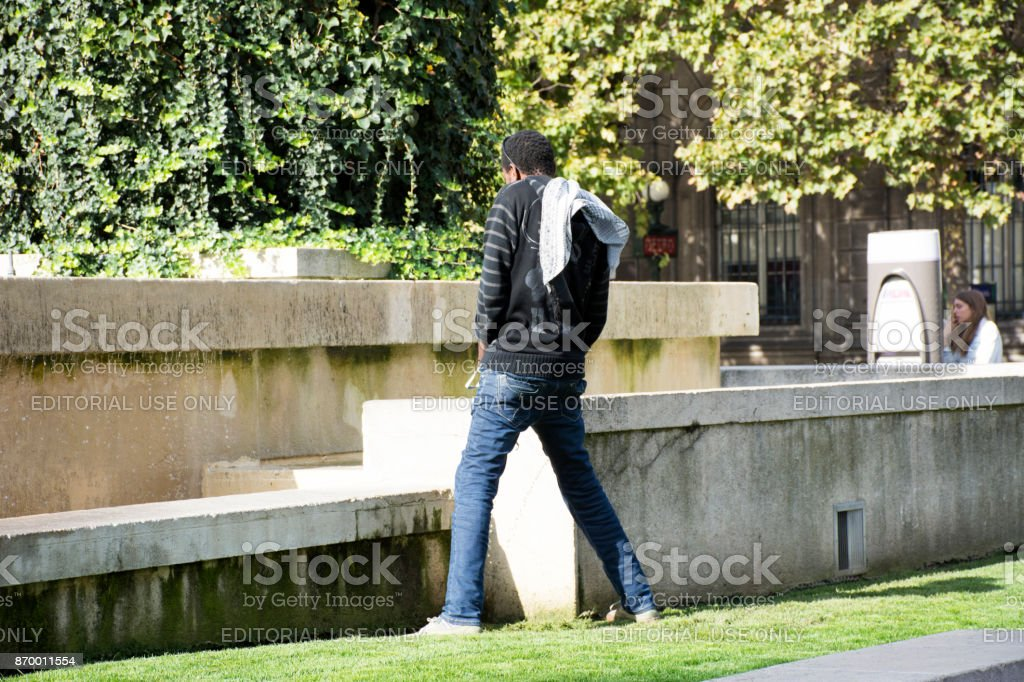 Best Black Men Peeing Stock Photos Pictures Amp Royalty