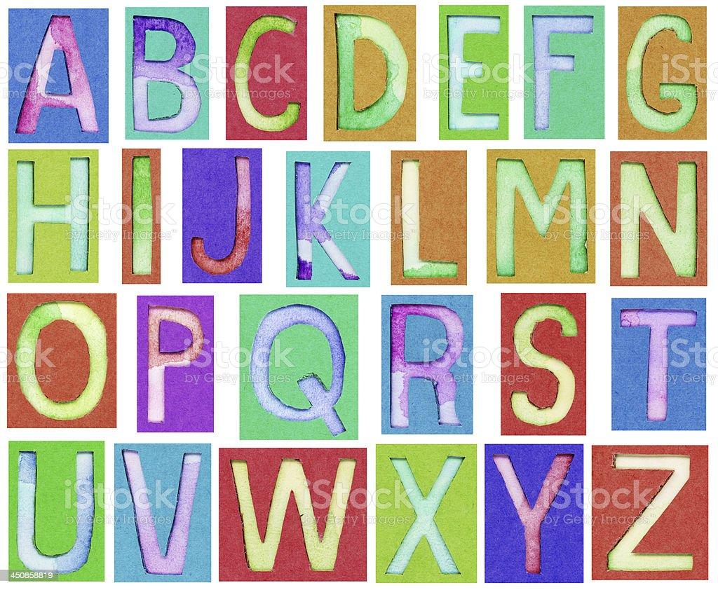 creative alphabet letters - HD1024×842