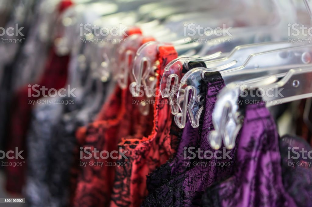 Closeup Of Underwear In A Hangar Shop Concept Shopping Shallow Depth     Closeup Of Underwear In A Hangar Shop Concept Shopping Shallow Depth Of  Field Stock Photo   More Pictures of Arts Culture and Entertainment   iStock