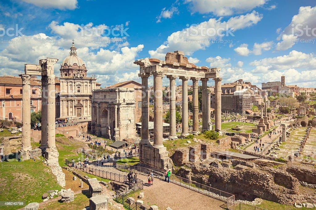 Forum Romanum Rome Stock Photo & More Pictures of Ancient ...