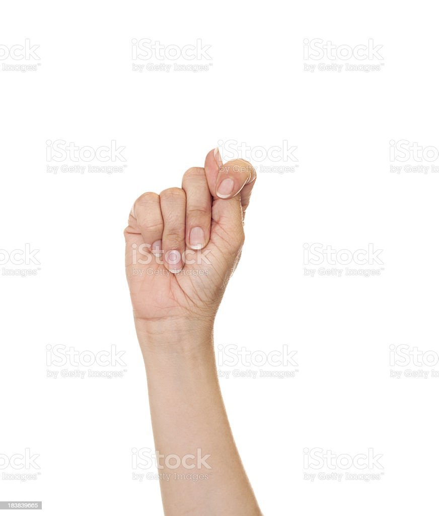Letter T In American Sign Language Stock Photo   More Pictures of     Letter T in American Sign Language royalty free stock photo