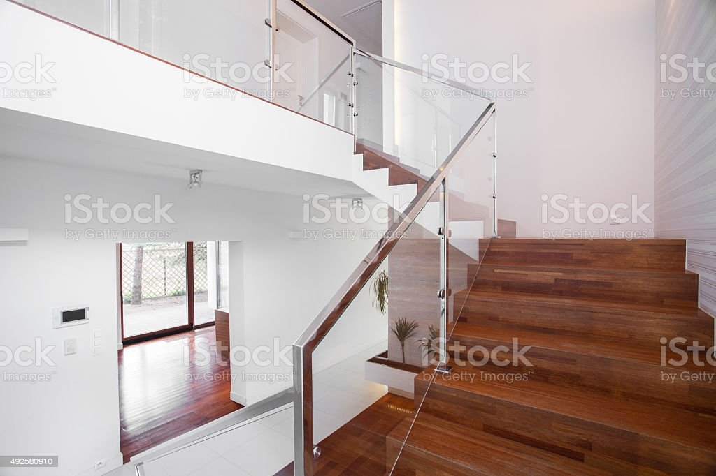 1 439 Glass Balustrade Stock Photos Pictures Royalty Free | Glass Balustrade With Wooden Handrail | Contemporary | Glass Panel | Interior | Guardrail | Atrium