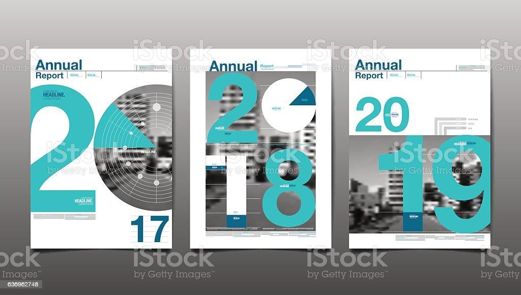 Annual Report 201720182019future Business Stock Vector Art ...