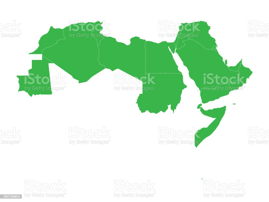 map royalty free country borders world