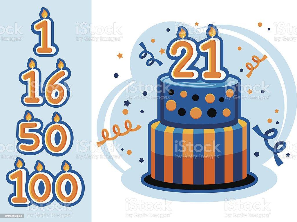 Best 16th Birthday Illustrations Royalty Free Vector