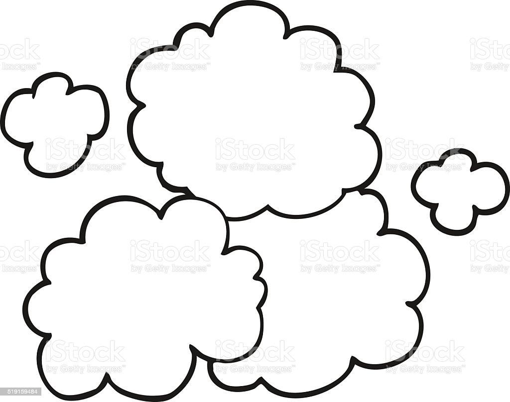 Train Smoke Cloud Clip Art