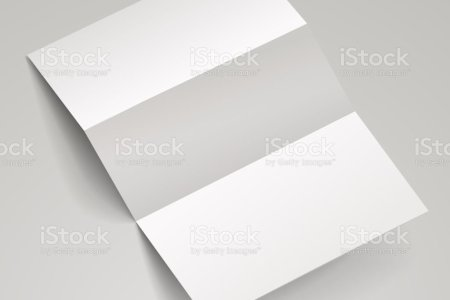 Blank Trifold Brochure Template Stock Vector Art   More Images of     Blank Trifold Brochure Template Stock Vector Art   More Images of 2015  533870563   iStock