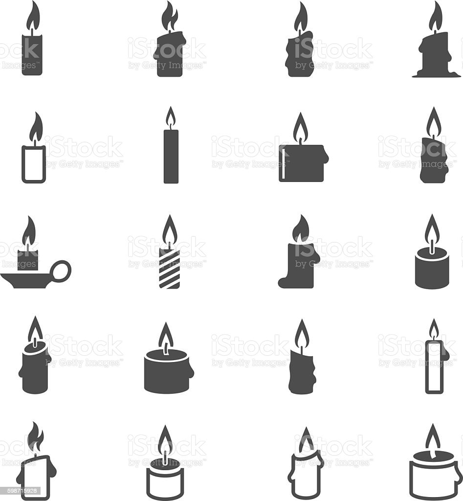 Best Candle Illustrations Royalty Free Vector Graphics