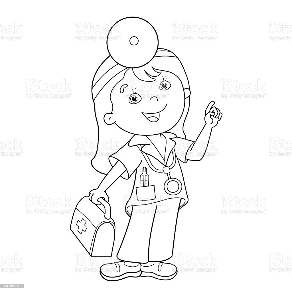 Funky Doctor Tools Coloring Pages Sketch - Printable Coloring Pages ...