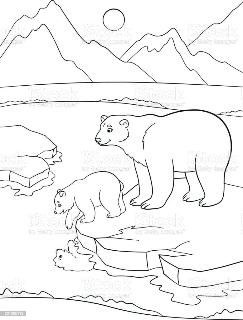 Tundra Habitat Coloring