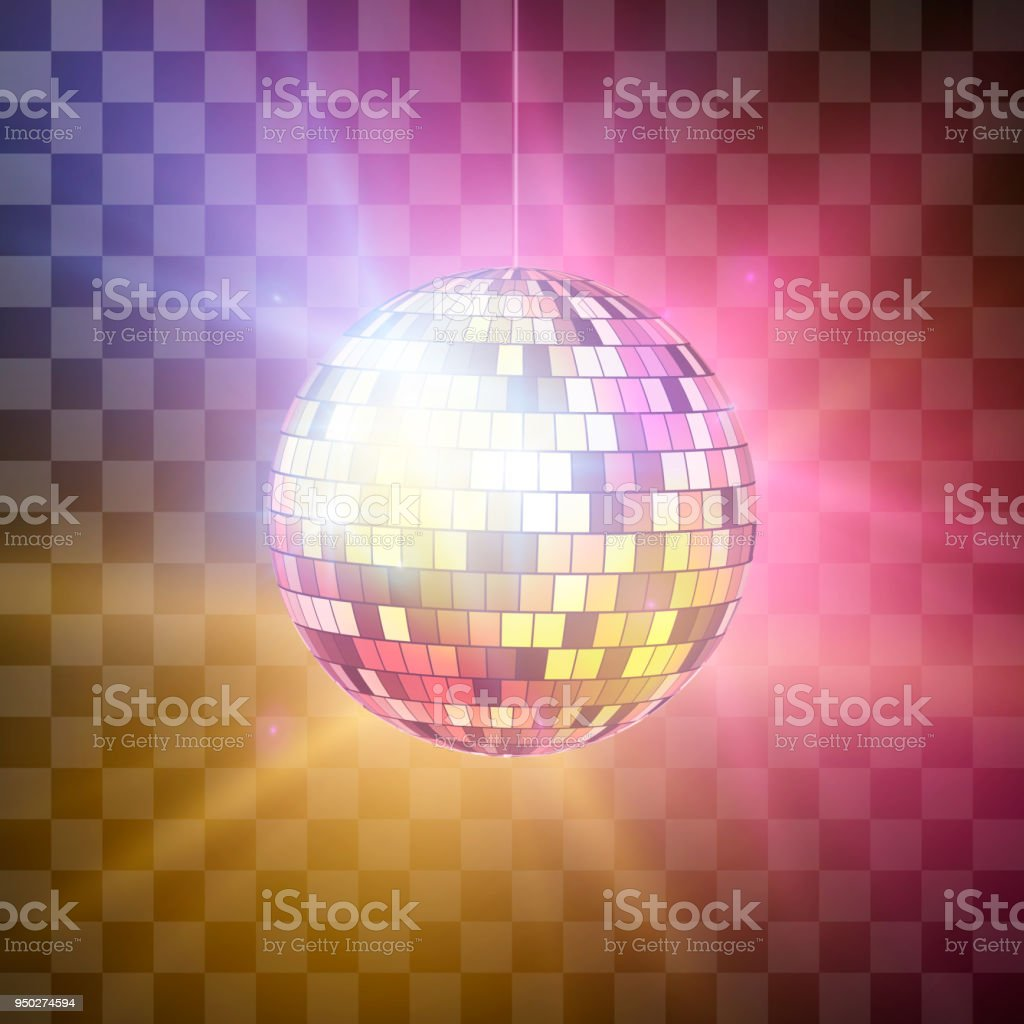 Clip Transparent Background Disco Ball