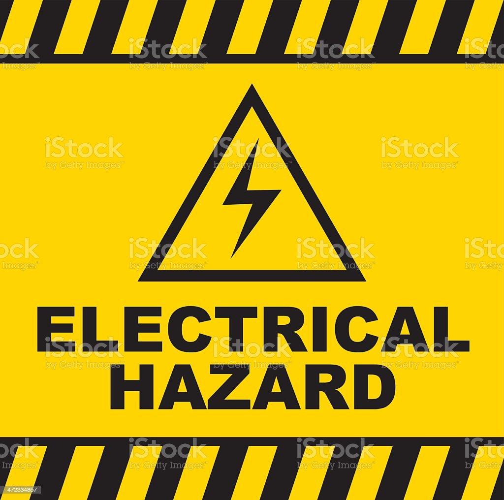 Electrical Caution Clip Art