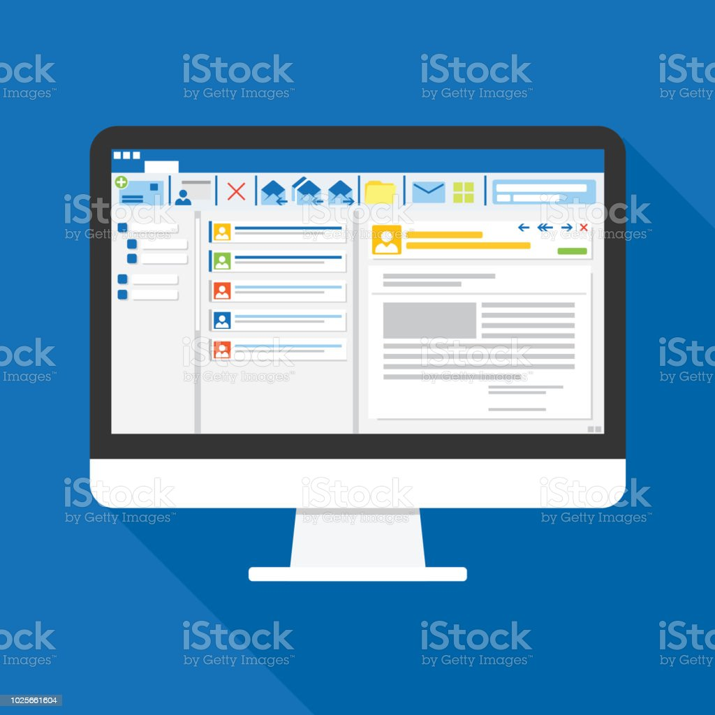 Best Computer Illustrations Royalty Free Vector Graphics