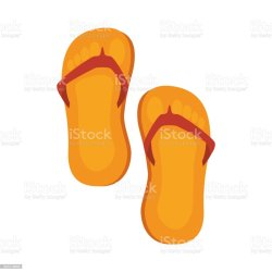 be81ca4468011a Flip Flops Isolated Icon Stock Vector Art   More Images Of Beach