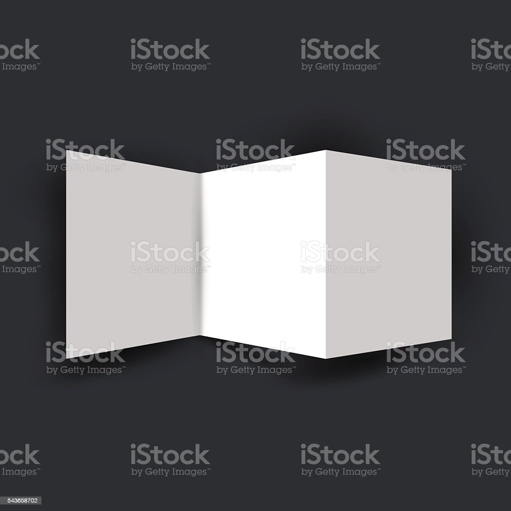Folded Placard Template