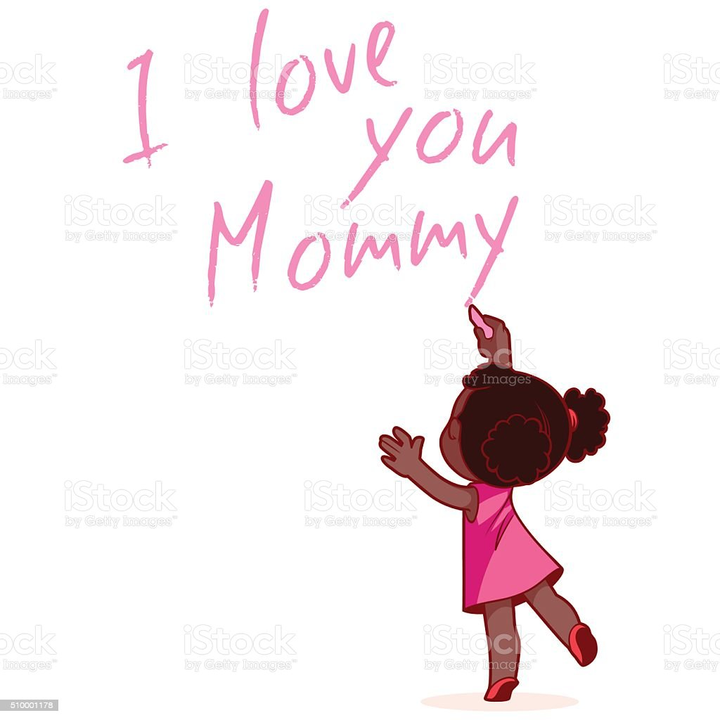 Mommy Love I You Spanish
