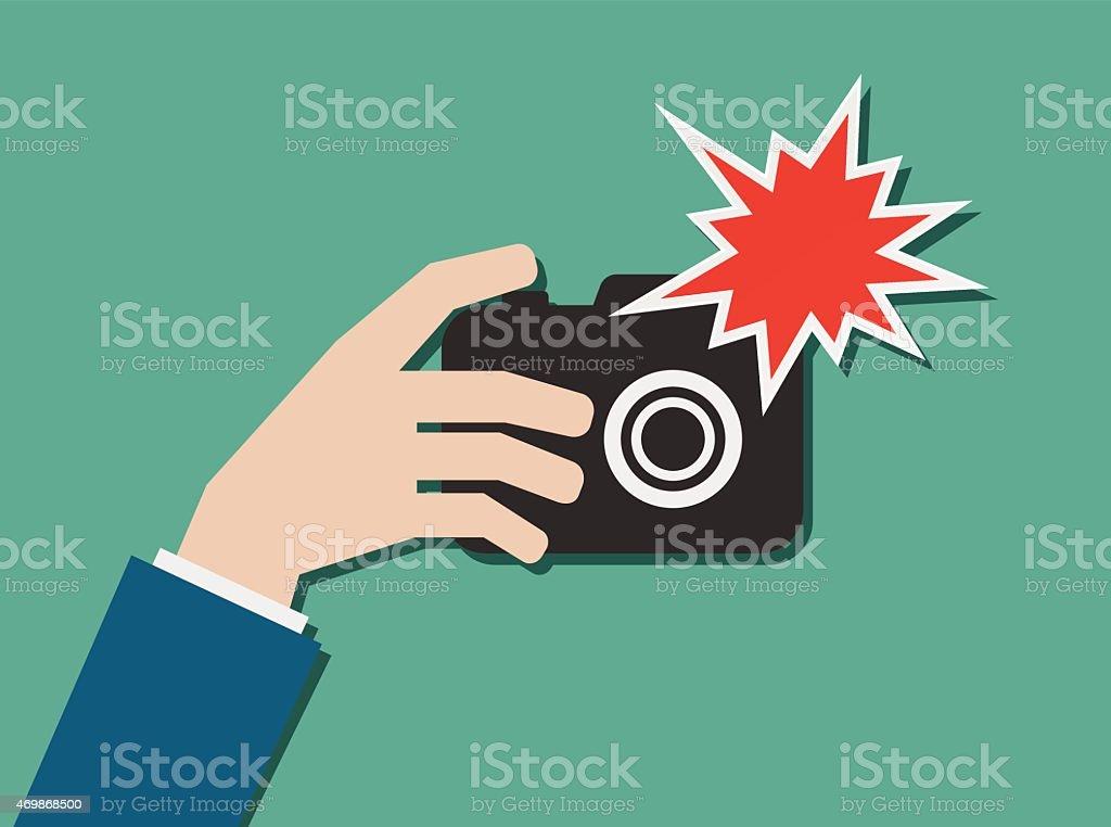 Camera Flash Illustrations Royalty Free Vector Graphics