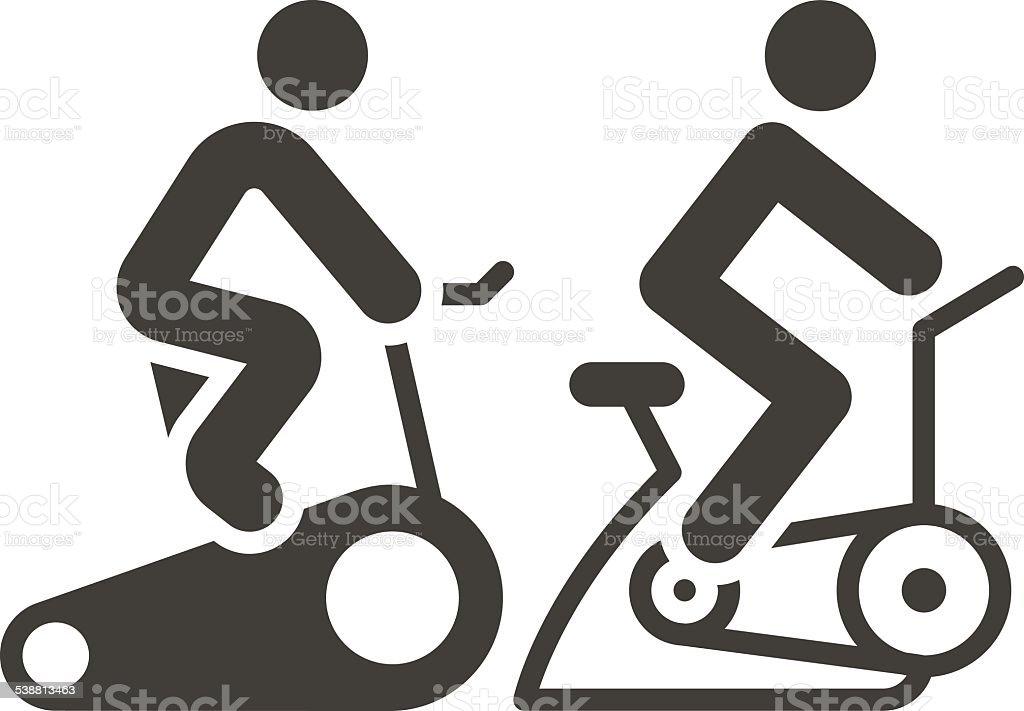 Art Cartoon Bicycle Clip