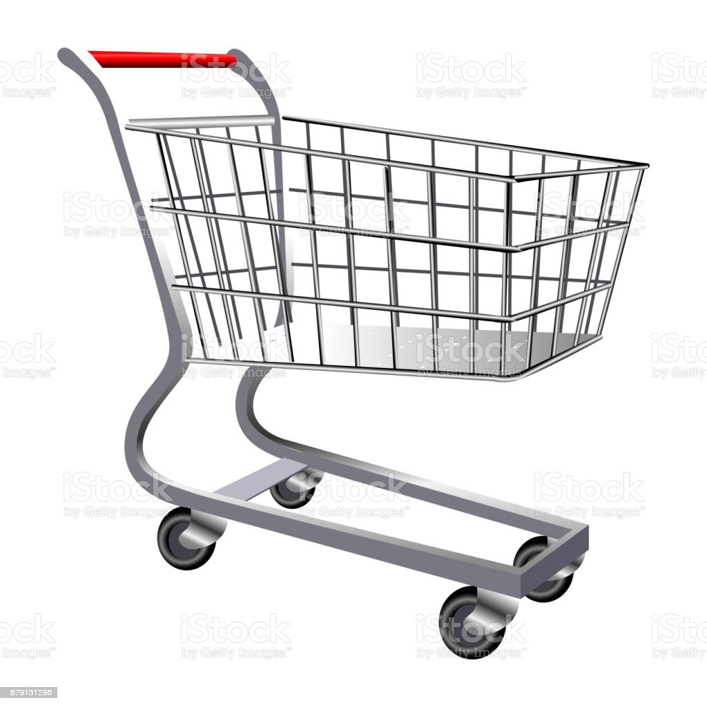 Best Shopping Cart Illustrations, Royalty-Free Vector ...